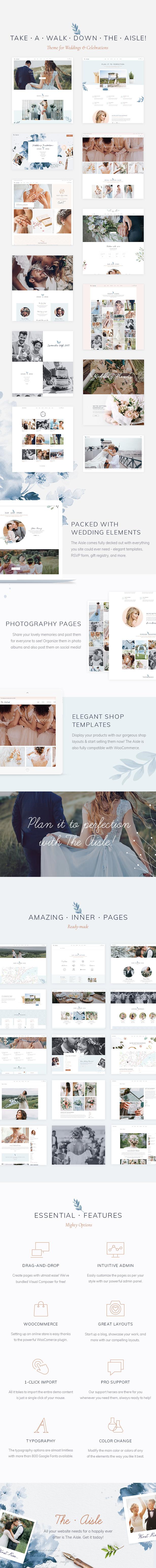 The Aisle - Elegant Wedding Theme - 4